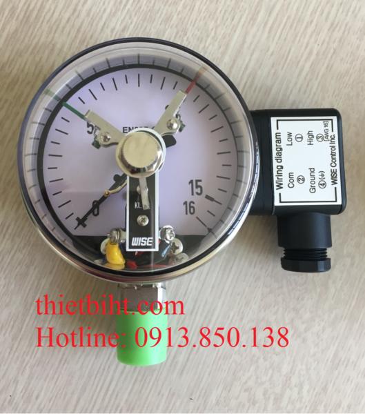 Đồng hồ áp suất tiếp điểm điện